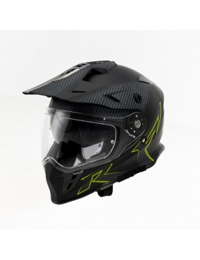 TORQ Adventure 331 Elementor Graphic(Matt Black/Carbon/Hi Viz)
